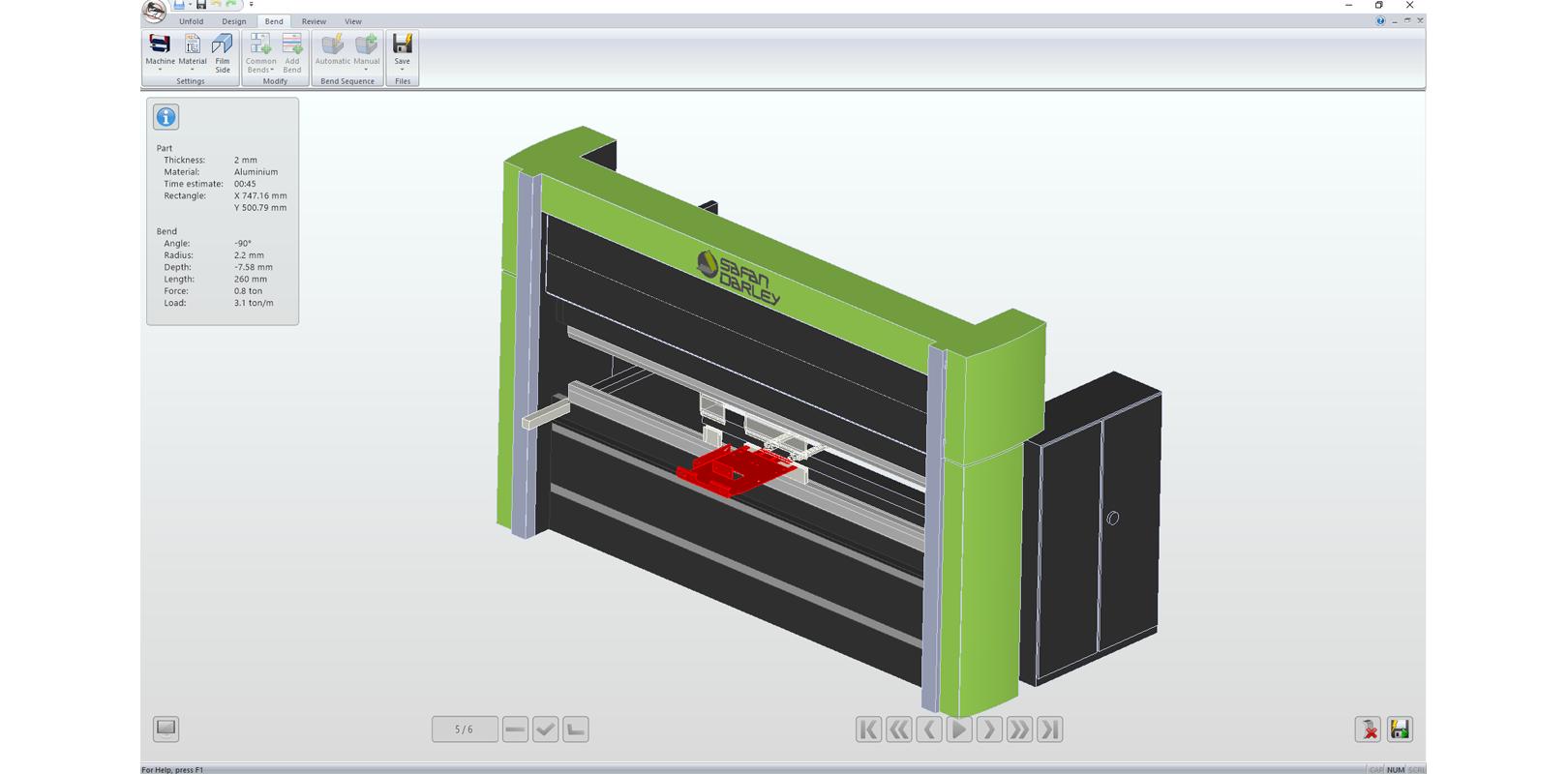 Autopol Offline Bending Software Sheetmetal Machinery