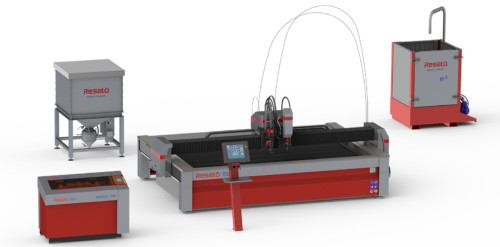 resato waterjet