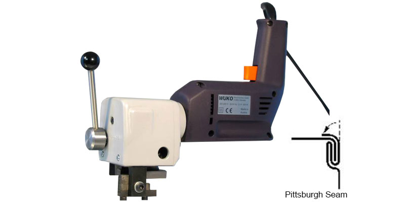Wuko Pitsburgh Seam Closer 1004 Sheetmetal Machinery