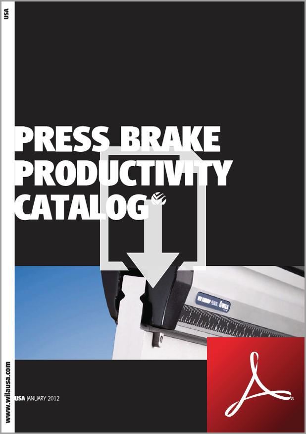 Press Brake Tooling - Wila Catalog